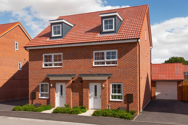 "Thumbnail End terrace house for sale in ""Kingsville"" at Station Road, Methley, Leeds"