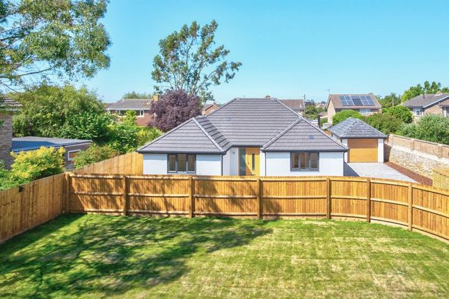 Thumbnail Detached bungalow for sale in West Fen Road, Ely