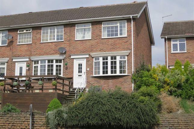 Thumbnail End terrace house for sale in Cavendish Drive, Carlton, Nottingham