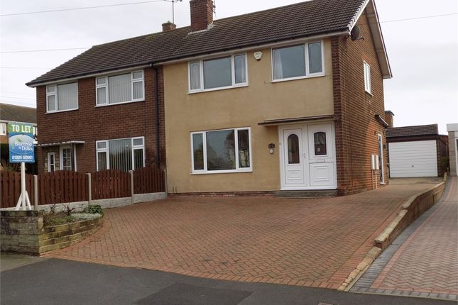 Thumbnail Semi-detached house to rent in Hemmingfield Crescent, Worksop, Nottinghamshire