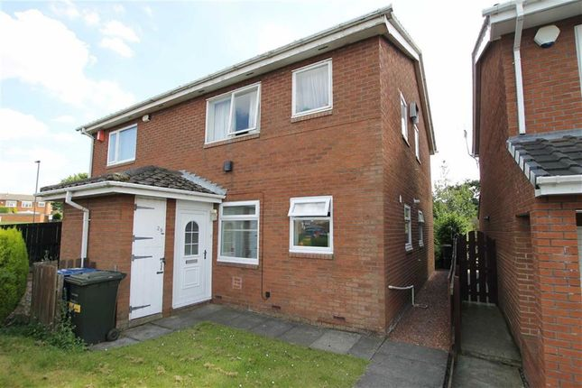 Thumbnail Flat for sale in Nuneaton Way, North Walbottle