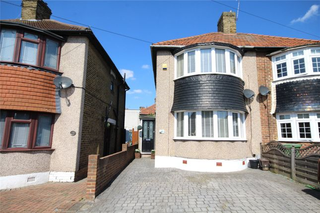 Thumbnail Semi-detached house for sale in Budleigh Crescent, Welling, Kent