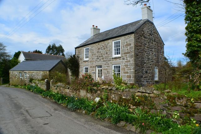 Thumbnail Detached house for sale in Bosulval, Newmill, Penzance