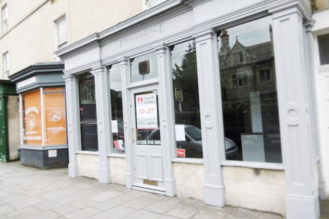 Thumbnail Restaurant/cafe to let in Bathwick Street, Bath