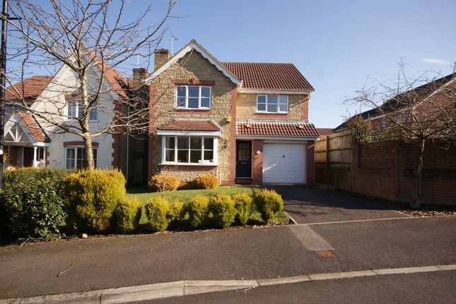 Thumbnail Detached house to rent in Fallow Field Close, Chippenham