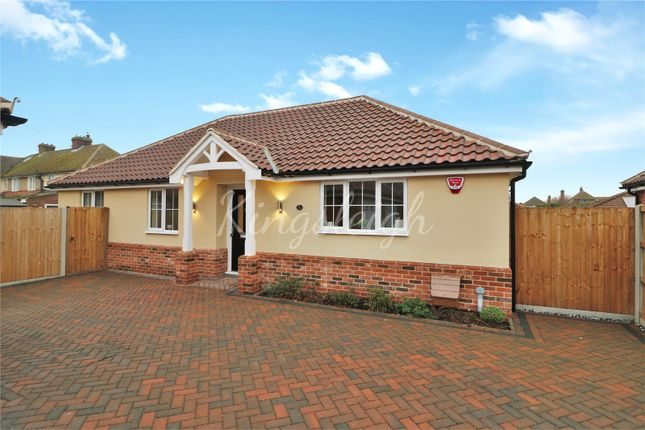 Thumbnail Bungalow for sale in Fronks Road, Dovercourt, Harwich, Essex