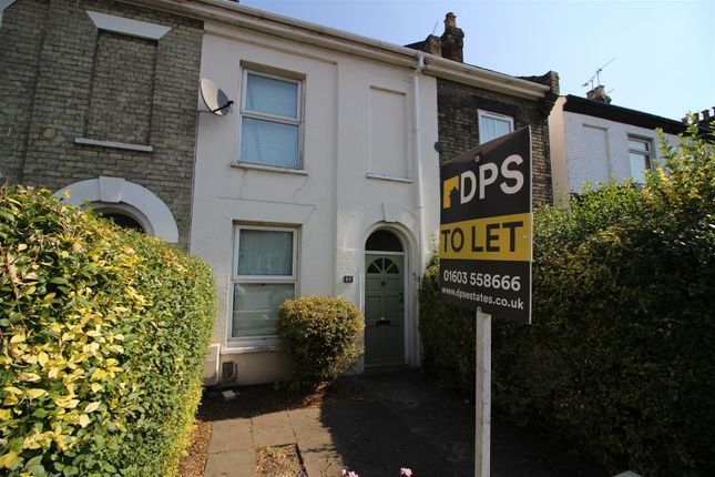 Thumbnail Terraced house to rent in Dereham Road, Norwich
