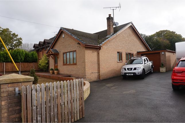 Thumbnail Detached bungalow for sale in Bryn Road, Mold