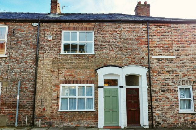Thumbnail Terraced house for sale in Victor Street, York, York
