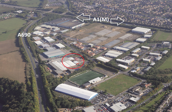 Thumbnail Industrial to let in Belmont Industrial Estate, Durham