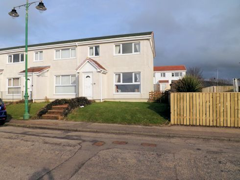 Thumbnail End terrace house for sale in Sound Of Kintyre Machrihanish, Campbeltown
