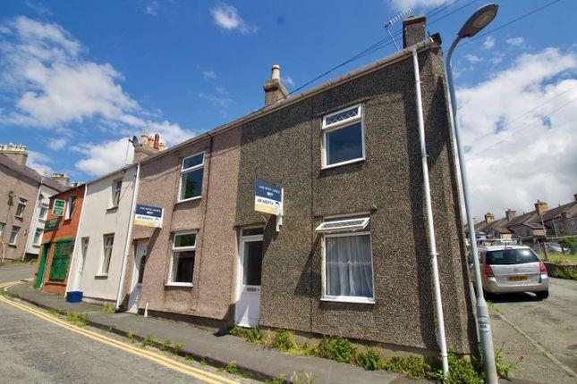 Thumbnail End terrace house for sale in Henwalia, Caernarfon