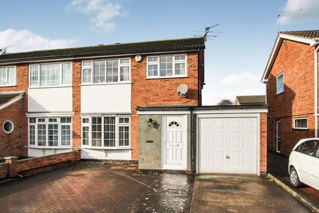 Thumbnail Semi-detached house for sale in Pine Drive, Syston, Leicester
