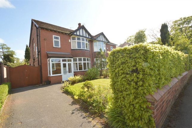 Thumbnail Semi-detached house for sale in Woodsmoor Lane, Davenport, Stockport