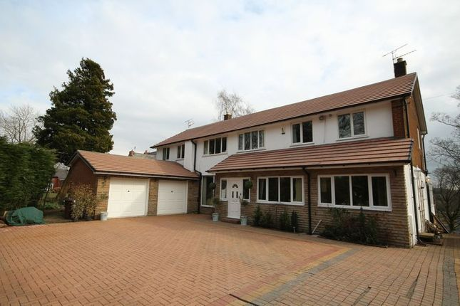 Thumbnail Detached house for sale in Oakenrod Hill, Oakenrod, Rochdale