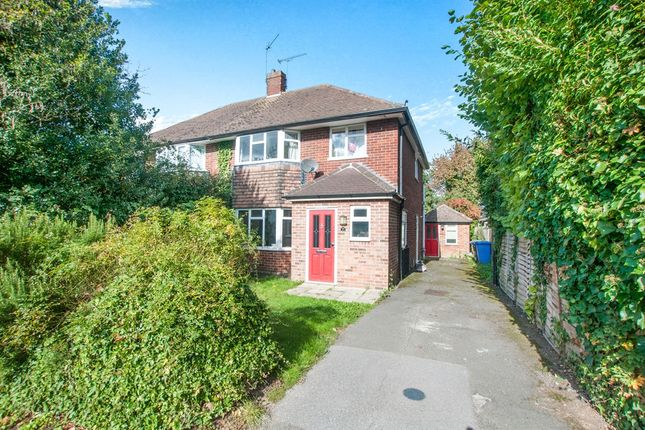 Thumbnail Semi-detached house for sale in Bannard Road, Maidenhead