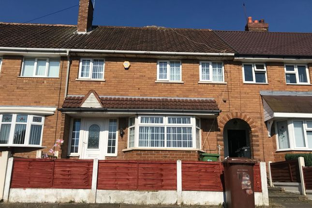 Thumbnail Terraced house to rent in Remington Road, Walsall
