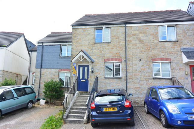 Thumbnail Terraced house for sale in Helena Court, Penwithick, St. Austell