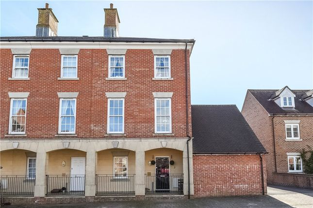 Thumbnail End terrace house for sale in Cobham Road, Blandford Forum