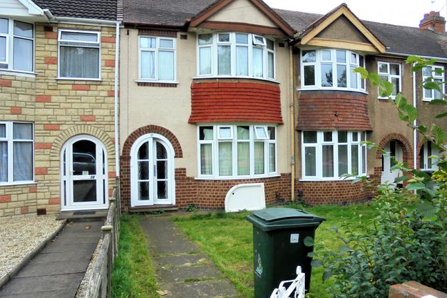 Terraced house for sale in Bridgeman Road, Coventry, West Midlands