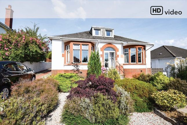 Thumbnail Detached bungalow for sale in Melford Avenue, Giffnock, Glasgow