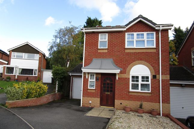 Thumbnail Link-detached house for sale in Cherrington Gardens, Compton, Wolverhampton