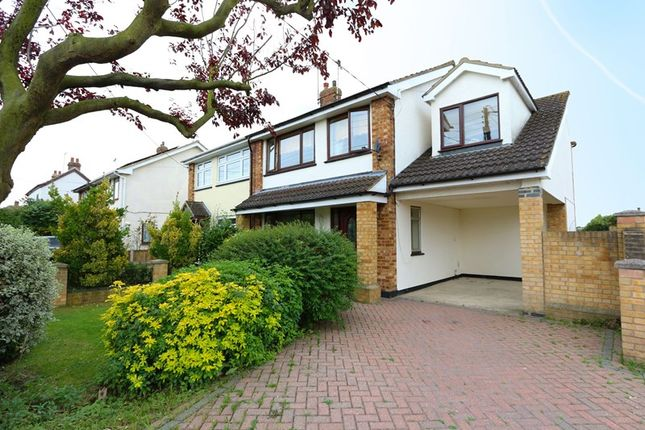 Thumbnail Semi-detached house for sale in Seamore Avenue, Benfleet