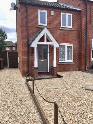 Thumbnail Semi-detached house to rent in Curlew Way, Sleaford