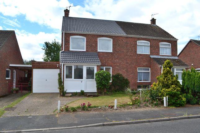 Thumbnail Semi-detached house for sale in Croft Close, Starston, Harleston