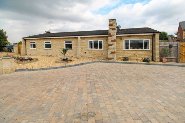 Thumbnail Detached bungalow for sale in Huntley Close, Inkersall, Chesterfield