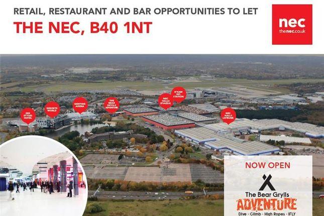 Thumbnail Retail premises to let in Various Units, National Exhibition Centre, Birmingham, West Midlands, UK