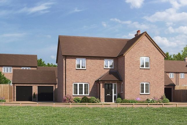 Thumbnail Detached house for sale in Bransford Road, Rushwick
