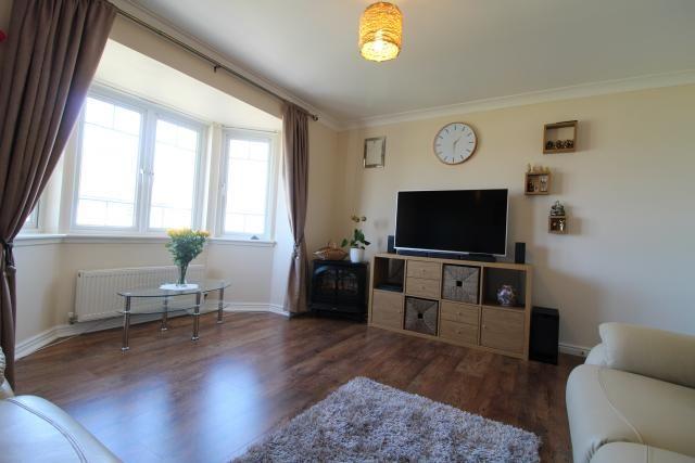 Lounge of 451 Leyland Road, Wester Inch Estate, Bathgate EH48