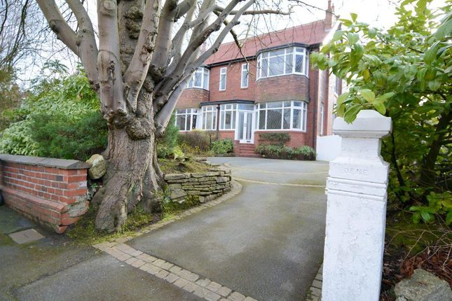 Thumbnail Semi-detached house for sale in Devonshire Park Road, Davenport Park, Stockport