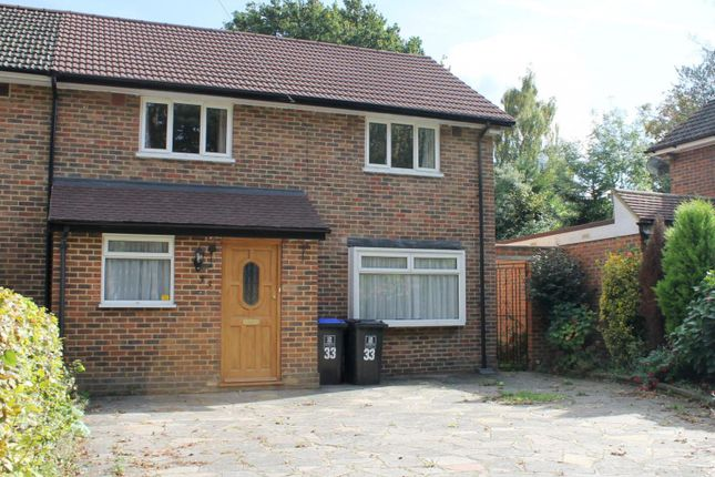 Thumbnail Semi-detached house to rent in Windsor Way, Woking