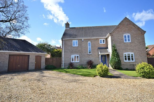 Thumbnail Detached house for sale in Priors Grove, Yaxham, Dereham
