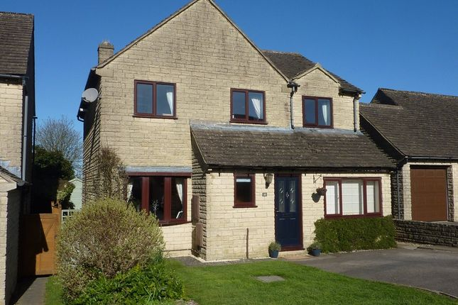 Thumbnail Detached house for sale in Greys Close, Bussage, Stroud