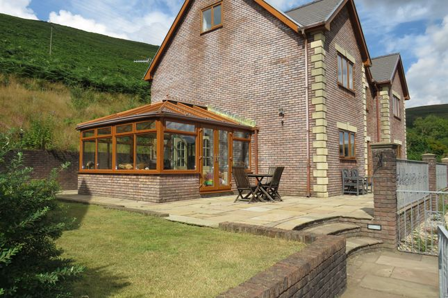 Thumbnail Detached house for sale in Bryn Road, Ogmore Vale, Bridgend