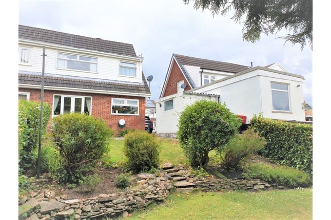 Thumbnail Semi-detached house for sale in Oxwich Close, Hengoed
