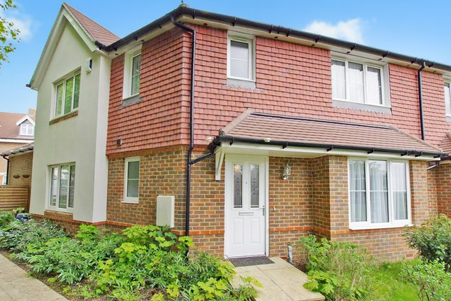 Thumbnail Semi-detached house for sale in Furnace Wood, Five Ash Down, Uckfield