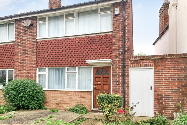 Thumbnail Semi-detached house for sale in London Road, St Dunstans, Canterbury