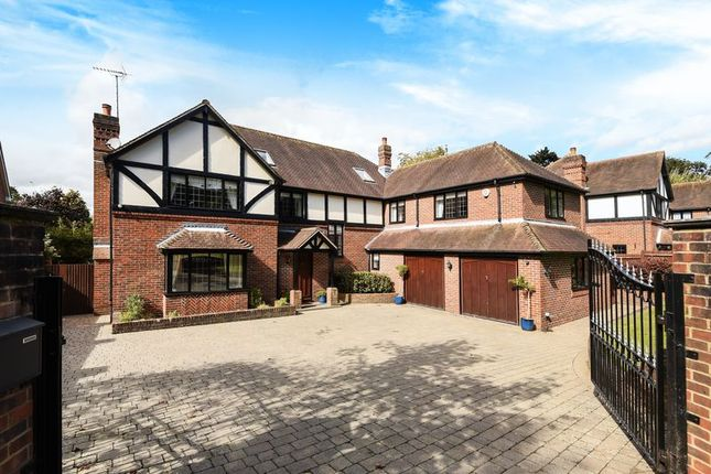 Thumbnail Detached house for sale in Holly Hill Lane, Sarisbury Green, Southampton