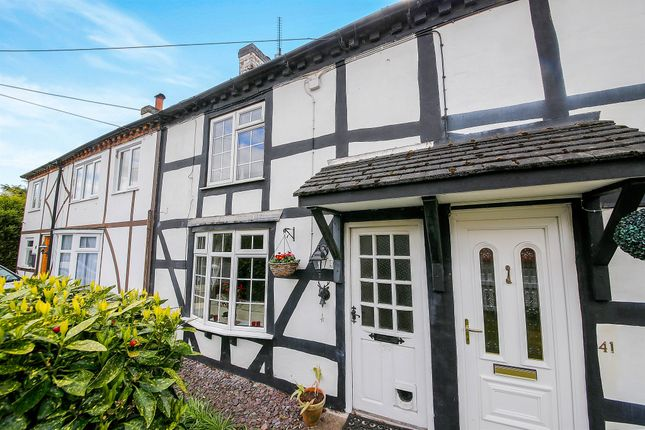 2 bed terraced house for sale in Coppice Road, Willaston, Nantwich