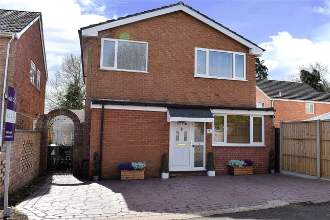 Thumbnail Detached house for sale in Nursery Walk, St Johns, Worcester