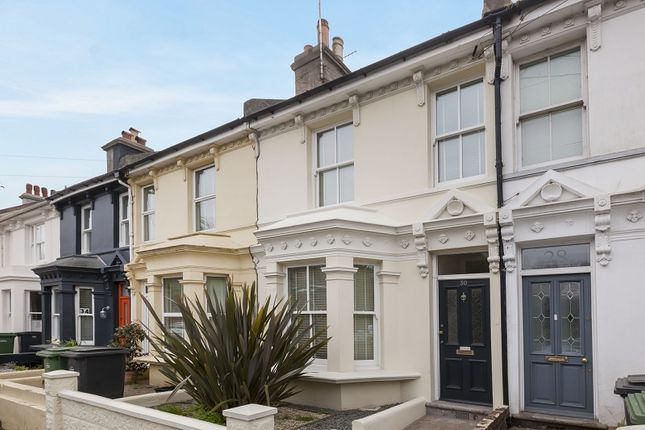 2 bed terraced house for sale in Harold Road, Hastings, East Sussex.