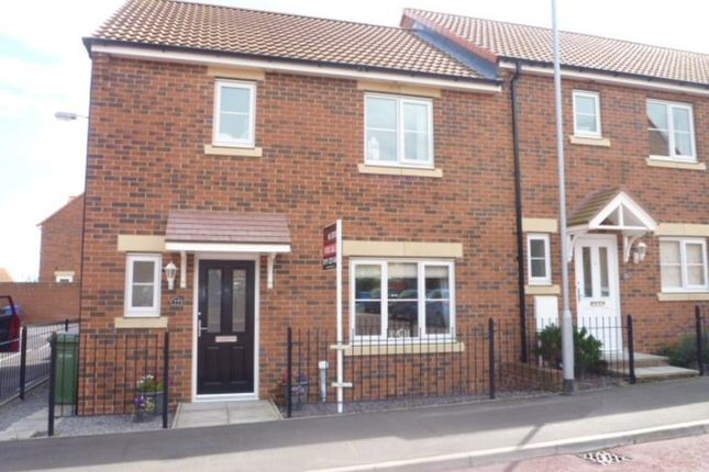 Thumbnail End terrace house for sale in Blackhaugh Drive, Seaton Delaval, Whitley Bay