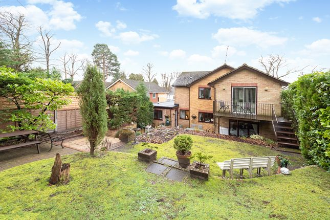 Thumbnail Detached house for sale in Hutton Road, Ash Vale, Surrey