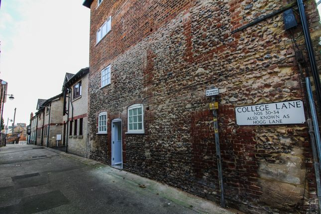 Thumbnail Flat for sale in Guildhall Street, Bury St Edmunds, Suffolk