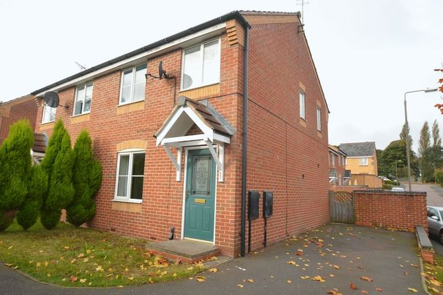 Thumbnail Semi-detached house for sale in Bracken Road, Shirebrook, Mansfield