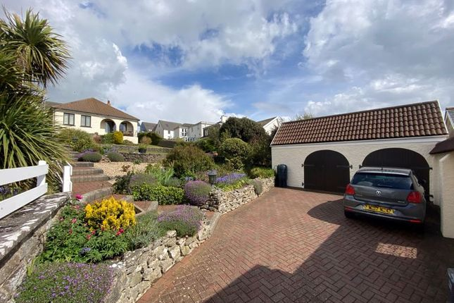 Thumbnail Detached bungalow for sale in Green Lea, Church Close, Ogmore By Sea